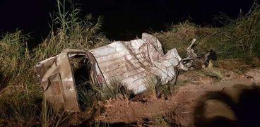 حادث مروع على طريق دار السلام بسوهاج: مصرع 6 وإصابة آخرين