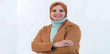 الدكتورة إيمان سلامة مقرر اللجنة الاجتماعية لنقابة الأطباء