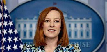 المتحدثة باسم الرئاسة الأمريكية «البيت الأبيض» جين بساكي