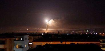 غارات جيش الاحتلال الإسرائيلي