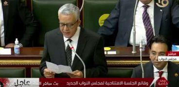 المستشار الدكتور حنفي محمد جبالي، رئيس المحكمة الدستورية العليا السابق