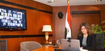 مكرم تعقد الاجتماع الثالث لـ«مصرية بـ100 راجل» بمشاركة مايا مرسي