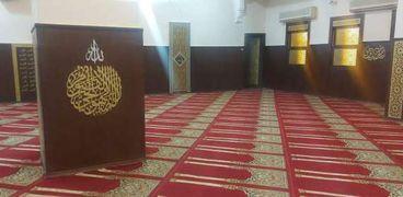 المسجد بعد النطوير
