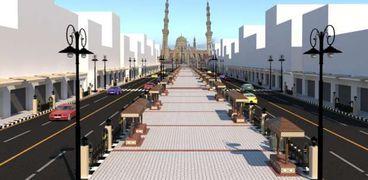 محافظ الغربية : تطوير ميدان المحطة ومحيط مسجد السيد البدوي بطنطا