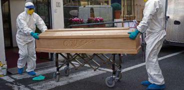 صورة لجثة متوفي بكورونا