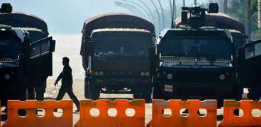 مقتل 6 من قوات الأمن بينهم شرطى منشق في هجوم وسط ميانمار
