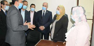 افتتاح مركز لعلاج الإدمان بالفيوم