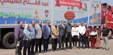 وصول أولوحدةتدريب متنقلة إلى الإسكندرية