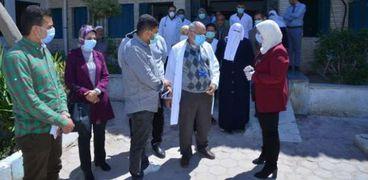 مستشفى الحميات بمطروح