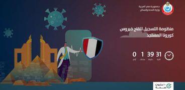رابط موقع تسجيل لقاح فيروس كورونا في مصر