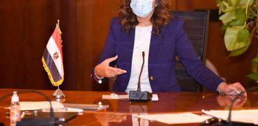 وزيرة الدولة للهجرة وشؤون المصريين بالخارج