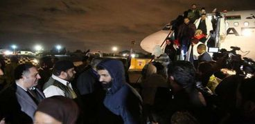 عودة ركاب الطائرة المخطوفة إلى مطار معيتيقة