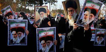 استمرار المظاهرات فى إيران.. وتوقعات بنشوب حرب أهلية بين مؤيدى ومعارضى «خامنئى» «أ. ف. ب»
