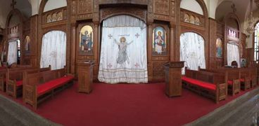 كنيسة الأمير تادرس الشطبي في المنيا