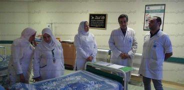 الدكتور أمجد فؤاد يتابع حالات الجهاز الهضمي