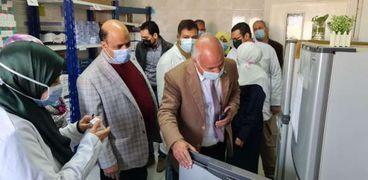 """وكيل الصحة بالغربية: نقل مريض السمنه""""عادل العزب"""" لعلاجه بمعهد ناصر"""