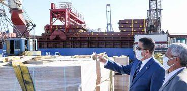 رئيس هيئة ميناء دمياط