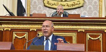 وزير النقل خلال جلسة البرلمان