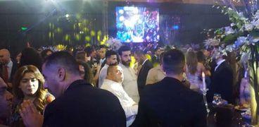 أمح في حفل زفاف أحمد فهمي وهنا الزاهد