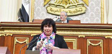 الدكتورة إيناس عبدالدايم وزيرة التضامن الاجتماعي
