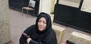 السيدة منى في مصر محطة