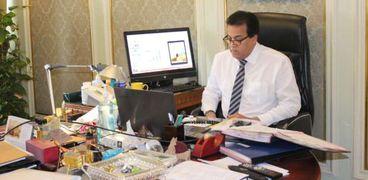 الدكتور خالد عبدالغفار وزير التعليم العالي و البحث العلمي