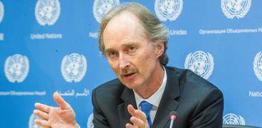 المبعوث الأممي إلى سوريا، غير بيدرسون