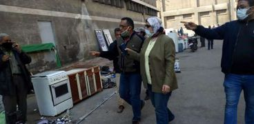 تنفيذ تجربة لتطبيق الإجراءات الإحترازية بسوق الجمعة في الإسكندرية