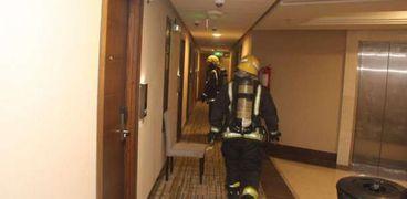 حريق في أحد فنادق مكة المكرمة