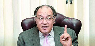 الدكتور حافظ أبوسعدة، عضو المجلس القومى لحقوق الإنسان، رئيس المنظمة المصرية لحقوق الإنسان