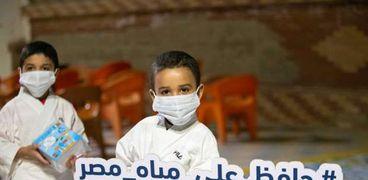 حملة توعوية باهمية ترشيد استهلاك المياه بكفر الشيخ