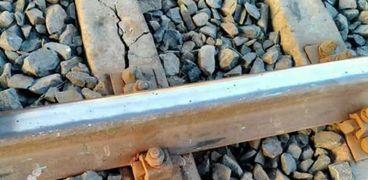 صورة قضبان السكك الحديدية