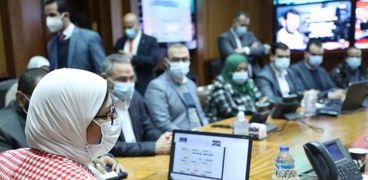 اجتماعات اللجنة العلمية لفيروس كورونا