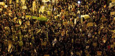 تجدد المظاهرات ضد رئيس الوزراء الإسرائيلي على خلفية كورونا والفساد