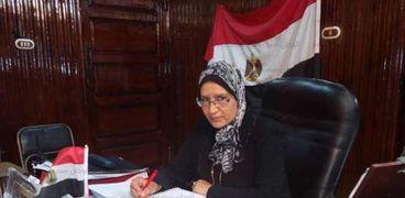 المهندسة عايدة ماضي، رئيس مركز ومدينة مطوبس