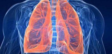 التليف الرئوييحدث بسبب تلف أنسجة الرئة