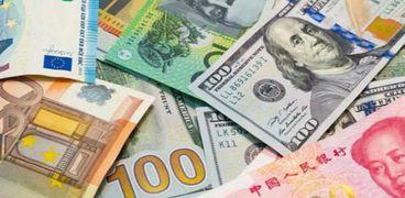 أسعار العملات الاجنبية في البنوك المصرية