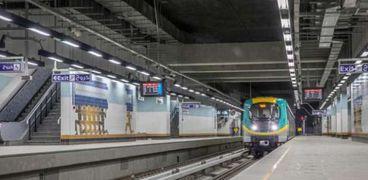 أحد قطارات مترو الأنفاق- صورة أرشيفية