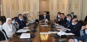 اجتماع اللجنة الدينية بمجلس النواب