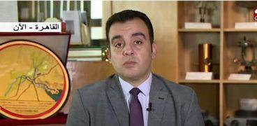 المهندس محمد السباعي .. المتحدث باسم وزارة الموارد المائية والري