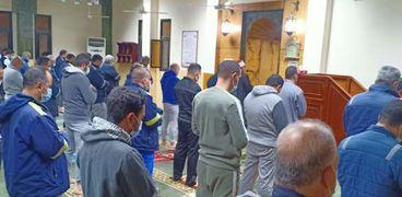 صلاة التراويح في مساجد مطروح