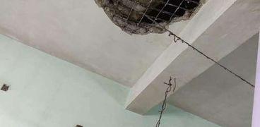 سقوط سقف مسجد