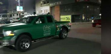 سيارات تدعم أطباء مصر