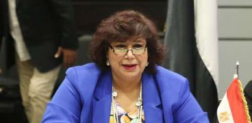 الدكتورة إيناس عبدالدايم وزيرة الثقافة