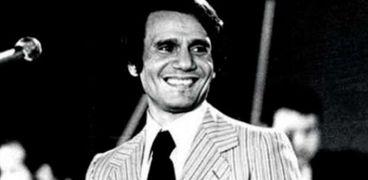 المطرب الراحل عبدالحليم حافظ