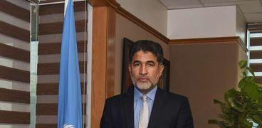 الدكتور أحمد المنظري المدير الإقليمي لمنظمة الصحة العالمية بإقليم الشرق المتوسط