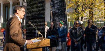 إزالة اسم الرئيس الأمريكى الراحل وودرو ويلسون