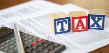 """6 أنواع من الضرائب يدفعها المصريون ..""""الدخل"""" و""""كسب العمل"""" في المقدمة"""