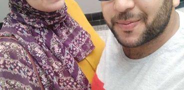 أحمد وأمل زوجان فرقهما الموت بعد 14 يوم من زفافهما