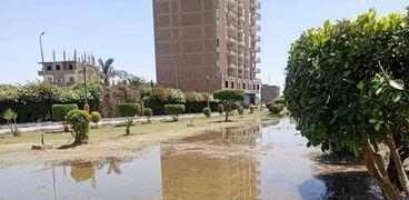 لمواجهة كورونا.. إغراق المتنزهات بالمياه لمنع التجمعات في سوهاج